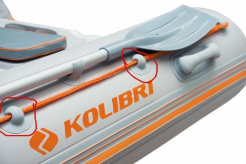 Rope handle for a inflatable boat KOLIBRI
