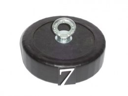 7KG RUBBER ANCHOR for pontoon or boat