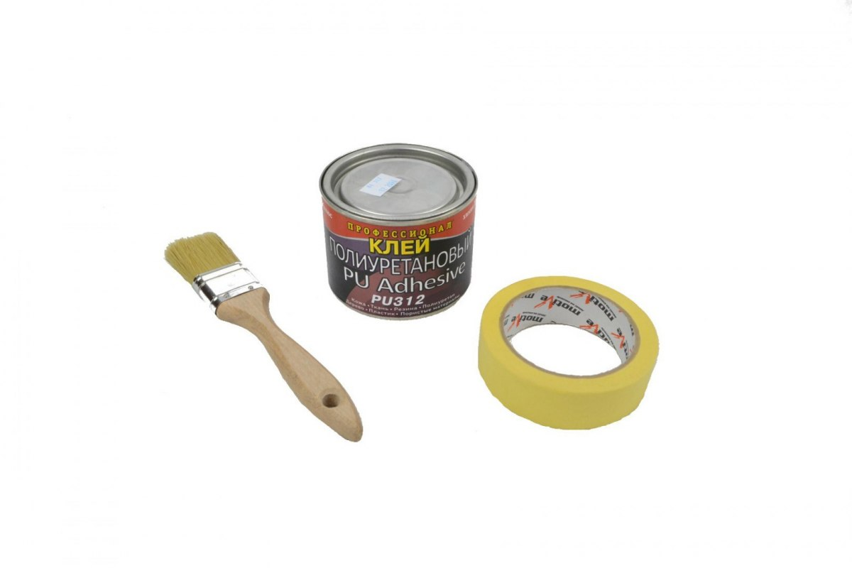 Professional glue 330g can + brush and tape