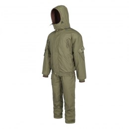 Winter set BARS OLIVE: jacket + bib overall Rip-Stop, up to -25° C