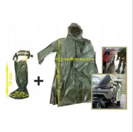 Set OP1 JACKET + WADERS raincoat