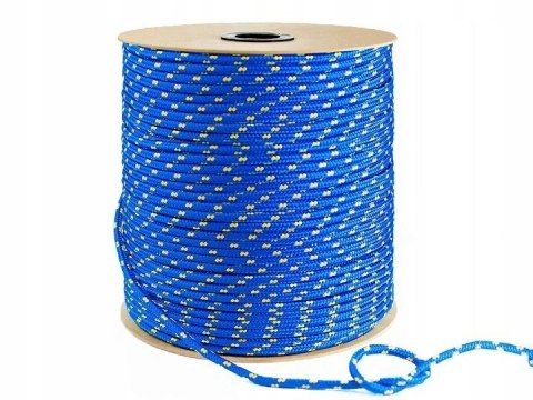 4MM ROPE for anchor cut from meter to pontoon or boat