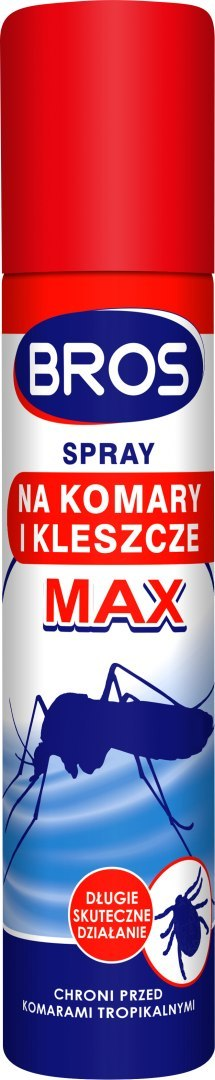 BROS MAX SPRAY DEET FOR mosquitoes and ticks TROPICLAS