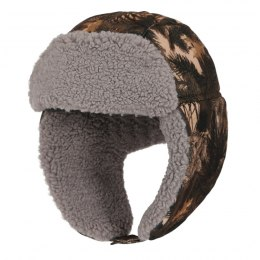 Winter hunting Uszatka cap, camouflage FOREST