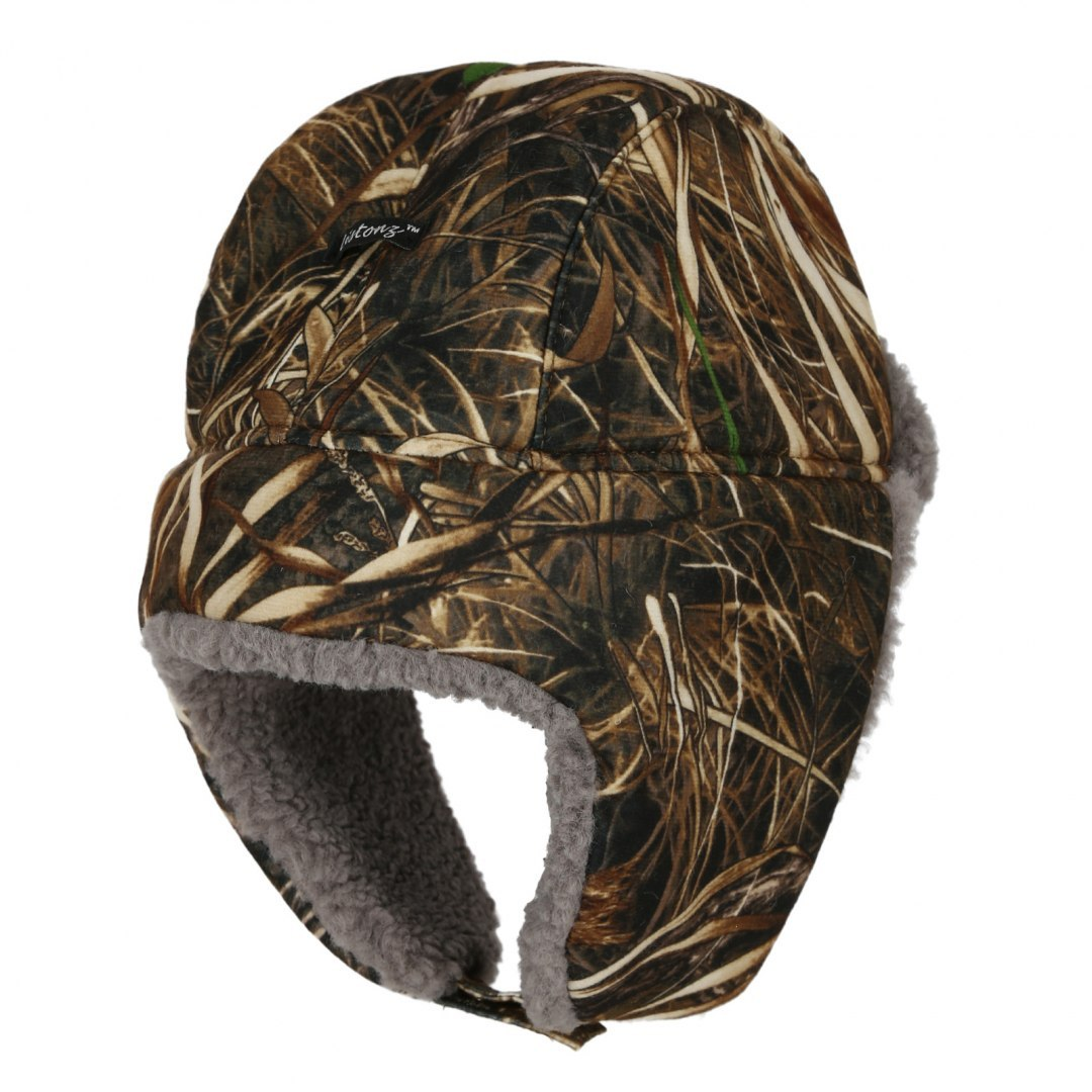 Winter hunting hat, DRY BUSH Camouflage