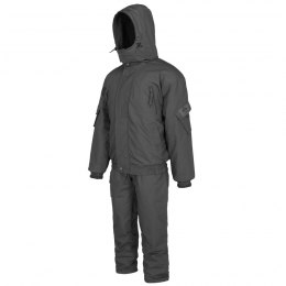 Winter Set RipStop Black Bars jacket + bib overall Rip-Stop do -25°C