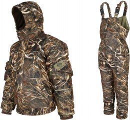 Winter set BARS DRY BUSH: jacket + bib overall, waterproof breathable MEMBRANE, up to -25° C