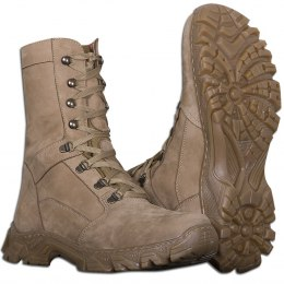 WINTER COMBAT BOOTS FAUX FUR DESERT COYOTE