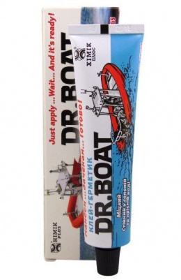 Professional PVC 2in1 adhesive DR.BOAT + Liquid Patch PVC Ulow tube 20ml + Reinforcing mesh