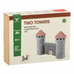 Constructor Set TWO TOWERS mini-bricks