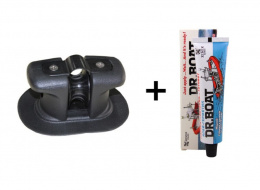 Anchor roller for the pontoon + Professional PVC 2in1 adhesive DR.BOAT