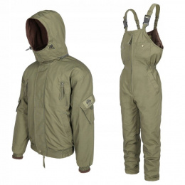 Summer and Autumn set BARS OLIVE: jacket + bib overall Rip-Stop, -1°C to 15°C
