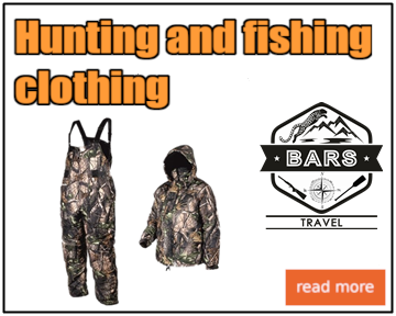 Hunting and fishing clothing