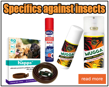 Specifics against insects